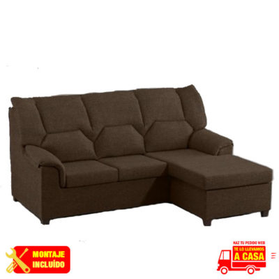 Chaise longue Jamaica Choco Montaje+Transporte