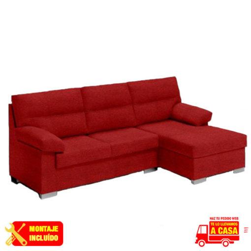 chaise longue aruba rojo Montaje+Transporte