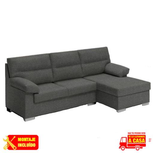 chaise longue aruba sofia gris Montaje+Transporte