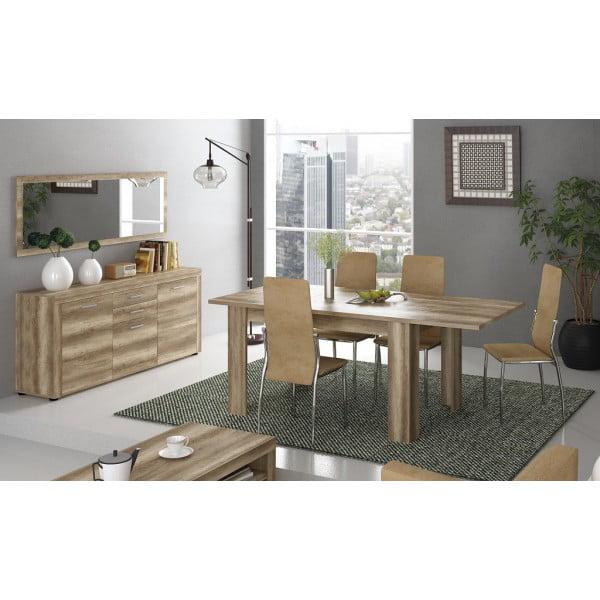 Mesa rectangular extensible colorado corfu - Mesa salon extensible ...