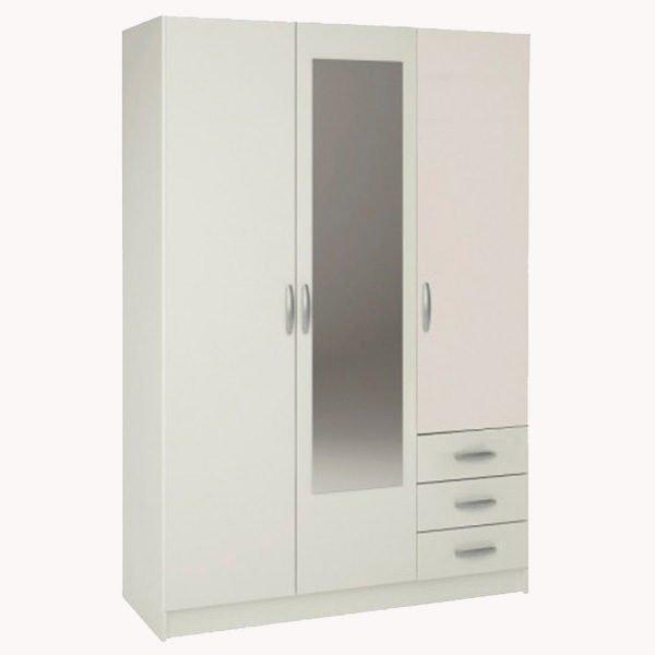 Chollos y la mejor oferta en muebles y equipamiento para - Armario 3 puertas ...