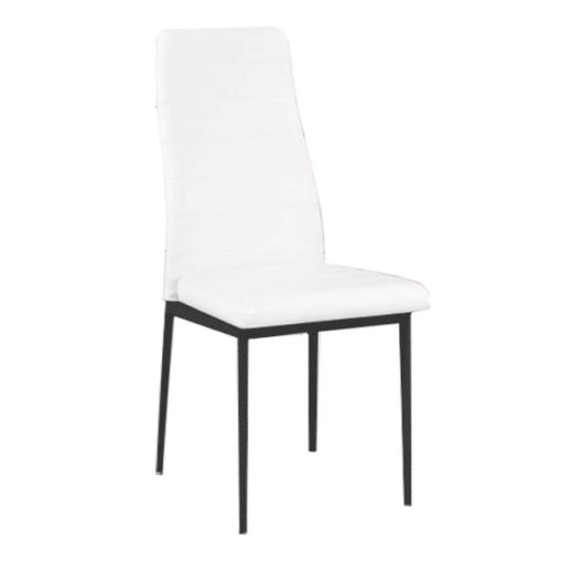 silla salon color blanco