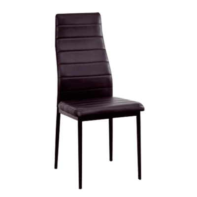 silla salon color negro
