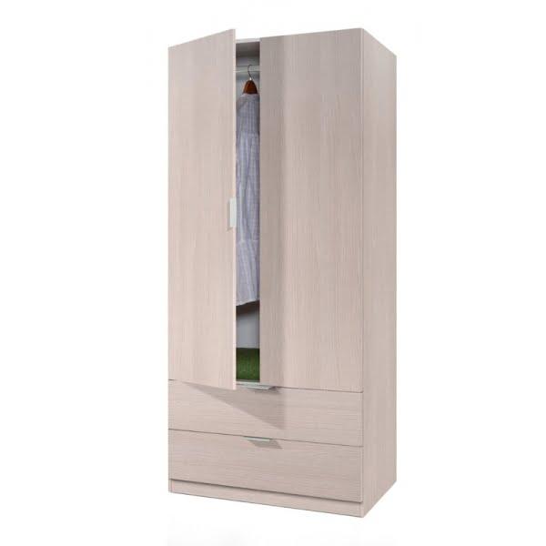 Armario 2 puertas y 2 cajones tiendas anticrisis - Armarios de oferta ...