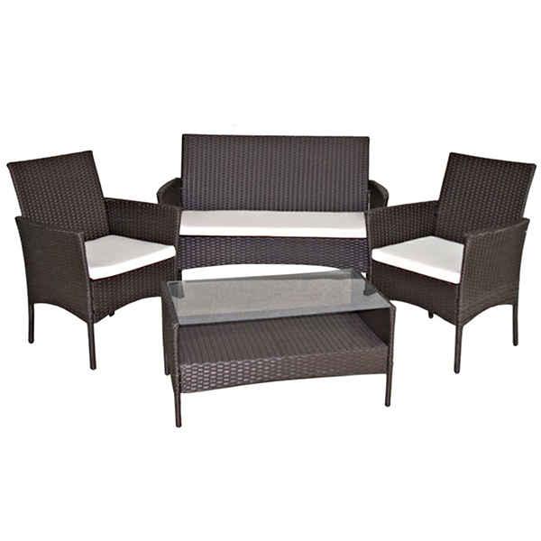 Set sillones y mesa para terraza tiendas anticrisis for Sillones de terraza baratos