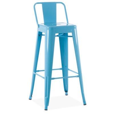 Taburete Vintage Azul