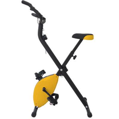 Bicicleta Estática Plegable Amarillo