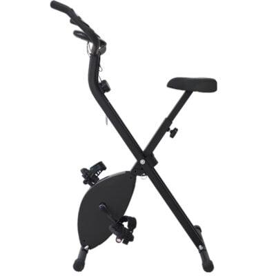Bicicleta Estática Plegable Negro