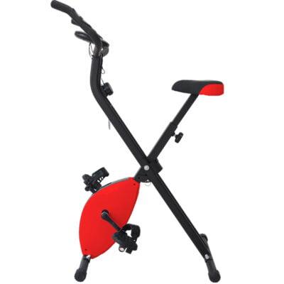 Bicicleta Estática Plegable Rojo