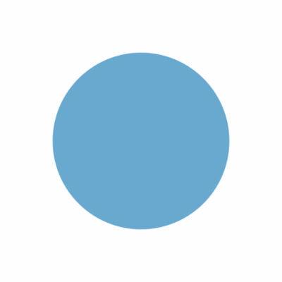 Silla plegable Azul