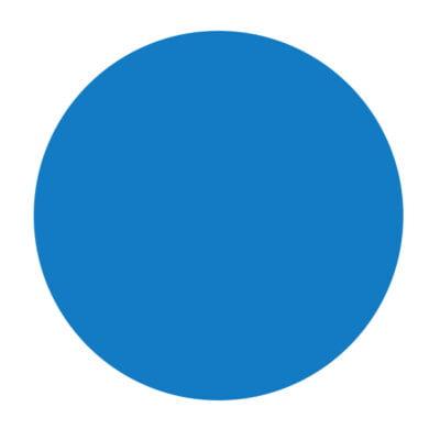 Nevera 18L Bolsillo Exterior Azul