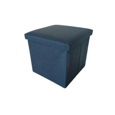 Caja Puff Azul