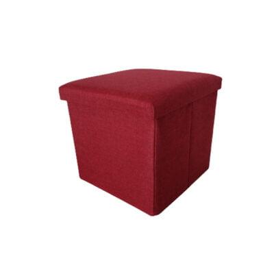 Caja Puff Roja