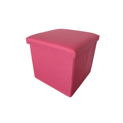 Caja Puff Rosa
